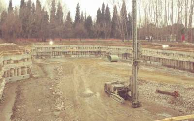 Tulip Hotel Deep Excavations Supporting Structures-Sakarya